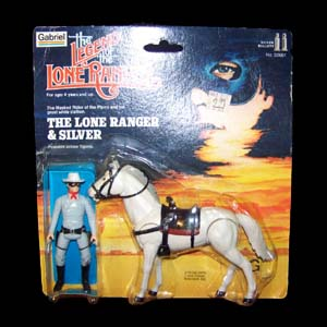 Lone Ranger figures two-pack
