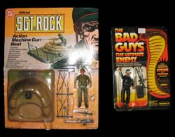 Remco Sgt. Rock & Bad Guys
