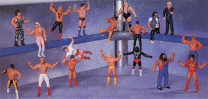 WWF LJN Bendies