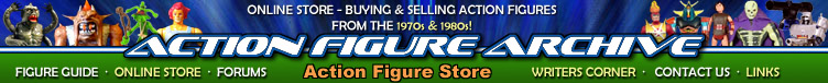 Action Figure Archive Store
